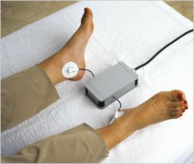 Position der Elektroden zur Messung